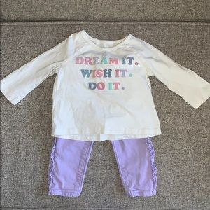Infants jeans and shirts!